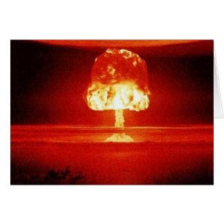 核爆発 カード