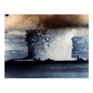 核爆発 ポストカード