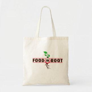 根の戦闘状況表示板の食糧 トートバッグ