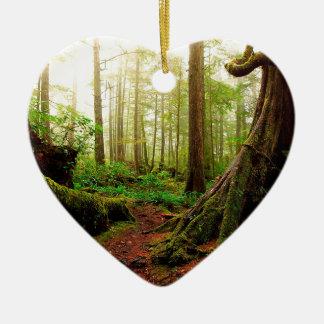 根の木の歩行 セラミックオーナメント