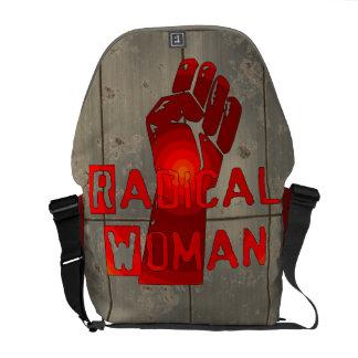 根本的な女性 メッセンジャーバッグ