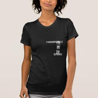 根本的に堕落させたTシャツ Tシャツ