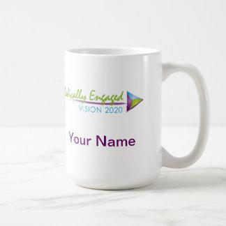 根本的に婚約したなマグ コーヒーマグカップ