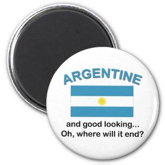 格好良いアルゼンチン人 マグネット