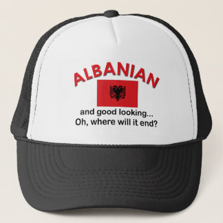 格好良いアルバニア語 キャップ