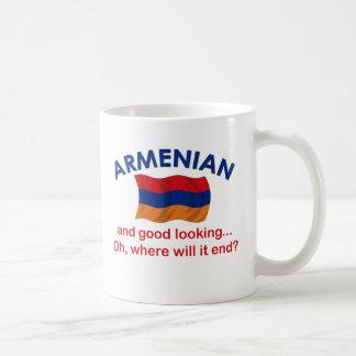 格好良いアルメニア語 コーヒーマグカップ