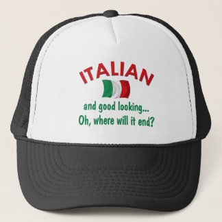 格好良いイタリア語 キャップ