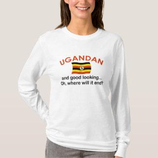 格好良いウガンダ人 Tシャツ