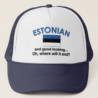 格好良いエストニア語 キャップ