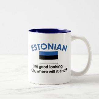 格好良いエストニア語 ツートーンマグカップ