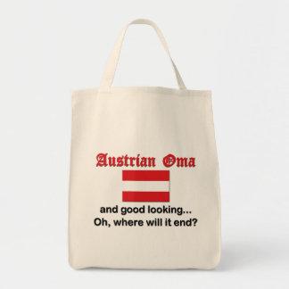 格好良いオーストリア人Oma トートバッグ