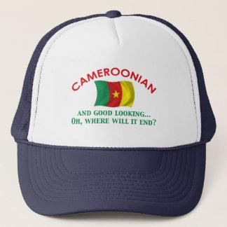 格好良いカメルーン人 キャップ