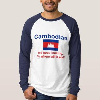格好良いカンボジア語 Tシャツ