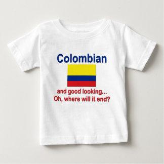格好良いコロンビア ベビーTシャツ