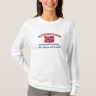 格好良いノルウェー語 Tシャツ