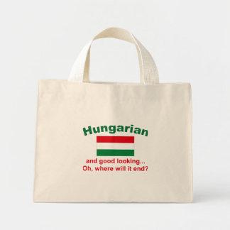 格好良いハンガリー語 ミニトートバッグ