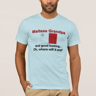 格好良いマルタの祖父 Tシャツ