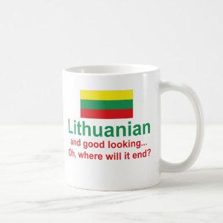 格好良いリトアニア語 コーヒーマグカップ