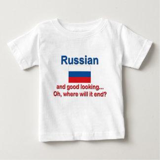 格好良いロシア語 ベビーTシャツ