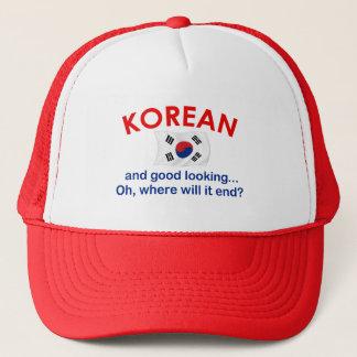 格好良い韓国語 キャップ