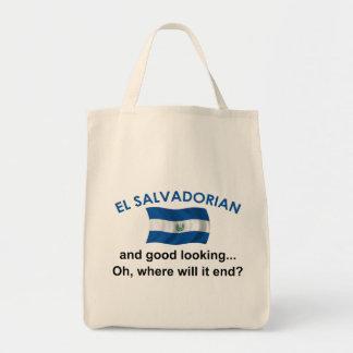 格好良いElエルサルバドル人 トートバッグ