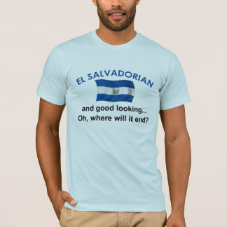 格好良いElエルサルバドル人 Tシャツ