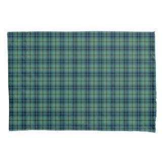 格子縞のキースの緑および青の一族の古代タータンチェック 枕カバー