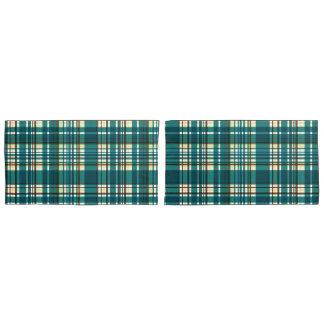 格子縞の抽象芸術12 枕カバー