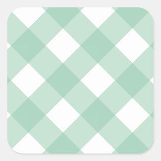 格子縞1のアメリカツガ スクエアシール