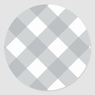 格子縞1パロマ ラウンドシール