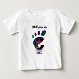 格言の場所はLINUXを好みます ベビーTシャツ