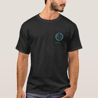 格言の容積のハートのTシャツ Tシャツ