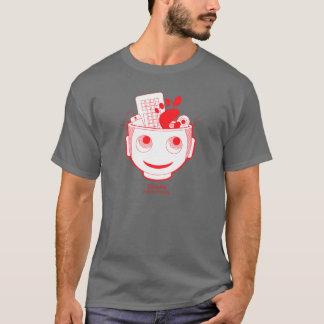 格言の頭部 Tシャツ