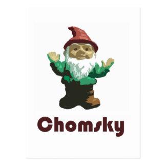 格言Chomsky ポストカード
