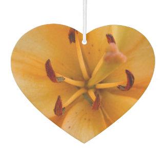 桃色のオレンジユリ カーエアーフレッシュナー