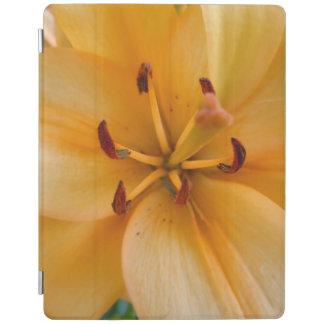 桃色のオレンジユリ iPadスマートカバー