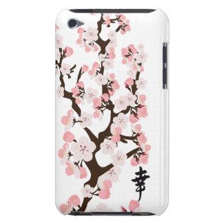 桜および漢字の穹窖の箱 Case-Mate iPod TOUCH ケース