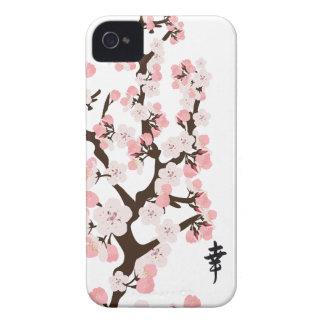 桜および漢字 Case-Mate iPhone 4 ケース
