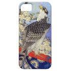 桜にハヤブサ、《鳥》ハヤブサ及び桜、Hokusai、Ukiyo-e iPhone SE/5/5s ケース