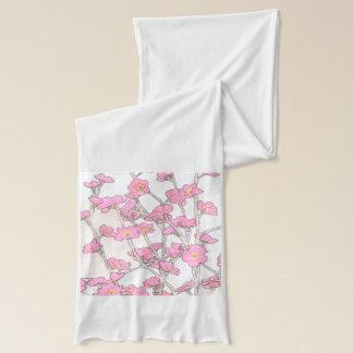 桜のアメリカの服装の薄いジャージーのスカーフ スカーフ