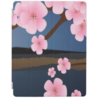 桜のグラフィック・デザイン iPadスマートカバー