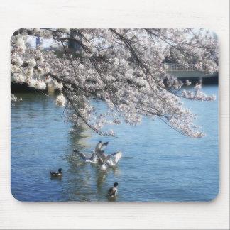桜のシンプル マウスパッド