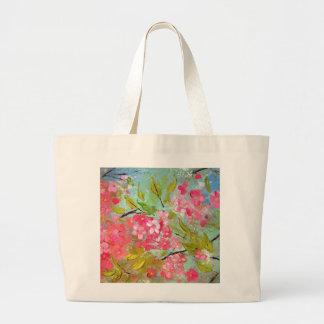 桜のトート ラージトートバッグ