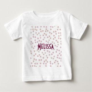桜のハート ベビーTシャツ