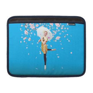 桜のバレリーナ MacBook スリーブ