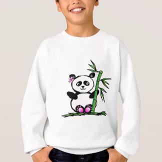 桜のパンダ スウェットシャツ