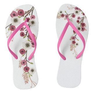 桜のビーチサンダル ビーチサンダル