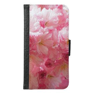 桜のピンクのスタイル GALAXY S6 ウォレットケース