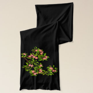 桜のピンクの桜のスカーフ スカーフ