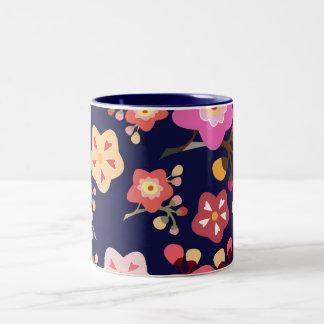 桜のマグ ツートーンマグカップ
